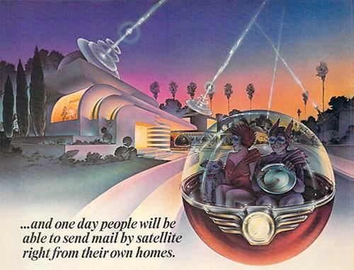 Airbrushed Video Game Art Art Deco Retro Futuristic