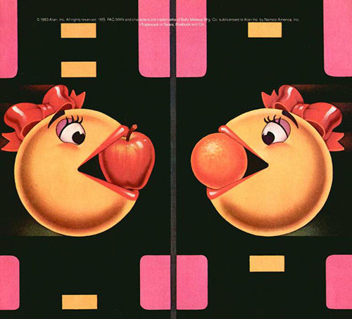 Ms. Pacman Airbrushed Video Game Art