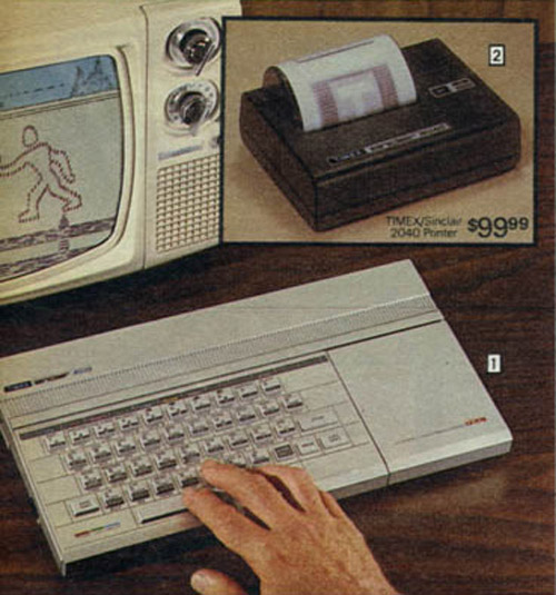 Personal Computers In the 1980s timex sinclair