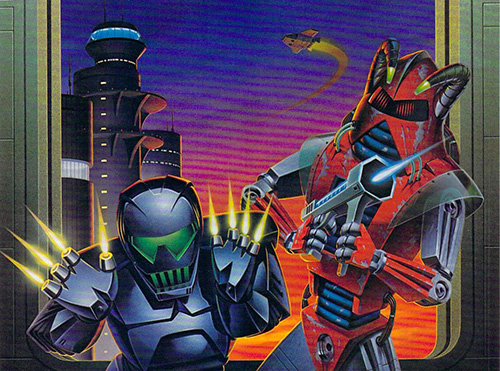 Airbrushed Video Game Art