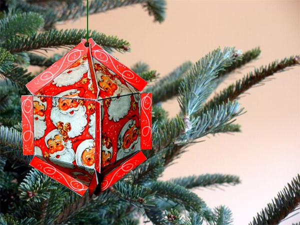 christmas ornament santa angel christmas tree