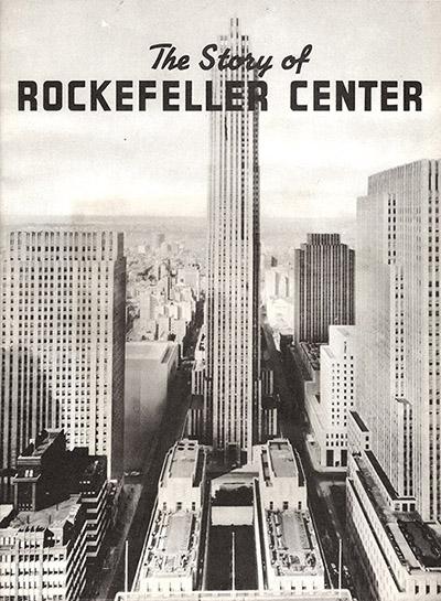 rockefeller center in 1939