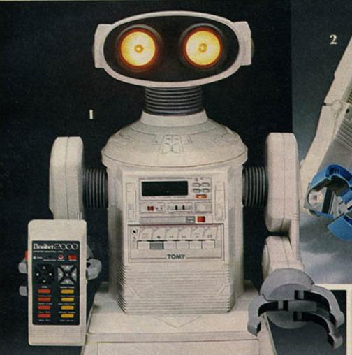 robot, toy