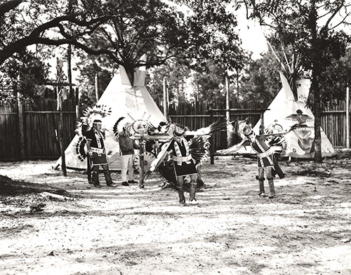 six gun territory ocala florida indian dance