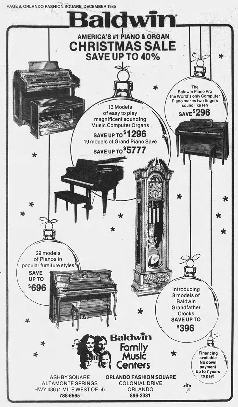 orlando baldwin pianos