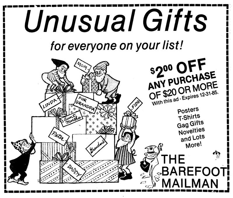 barefoot mailman shop