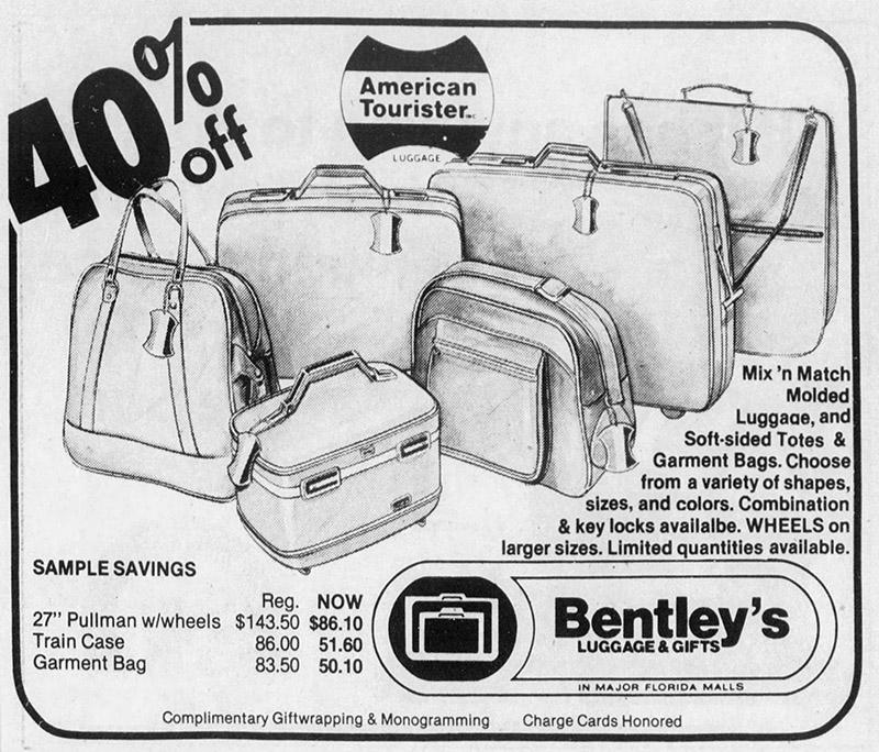 orlando fashion square mall bentley's luggage