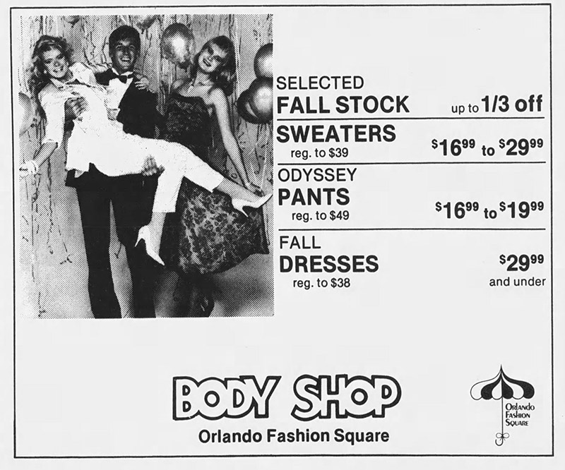orlando fashion square mall body shop