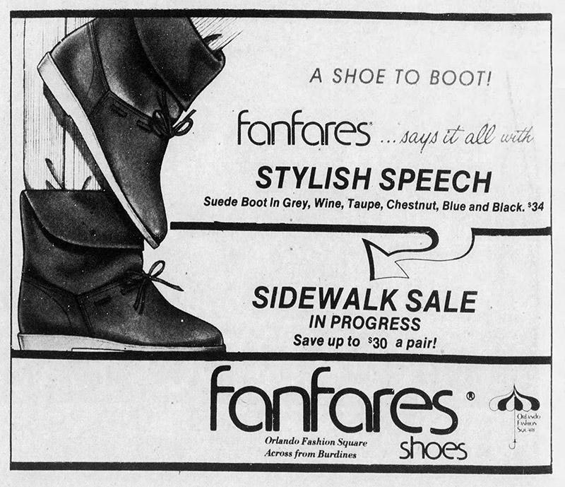 orlando fashion square mall fanfares shoes