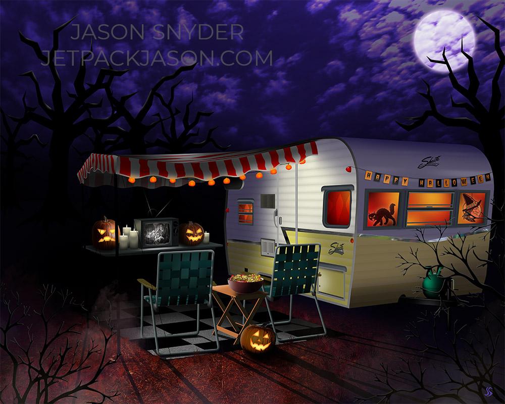 halloween shasta camper jason snyder