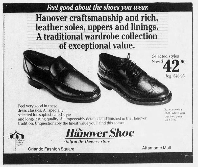 mall hanover shoe