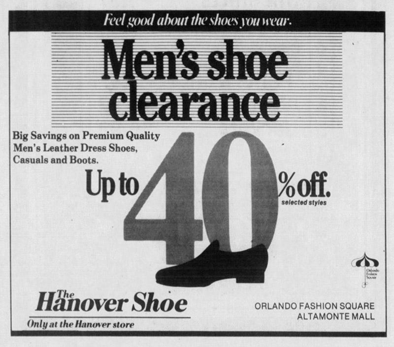 hanover shoe