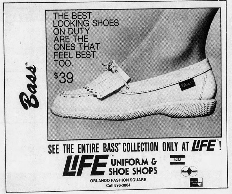 orlando fashion square mall life uniform shoe