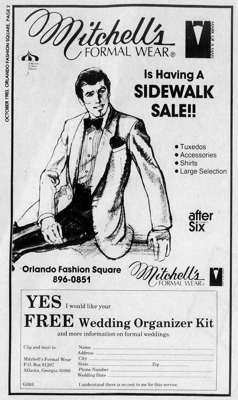 orlando fashion square mall mitchell's formal wear