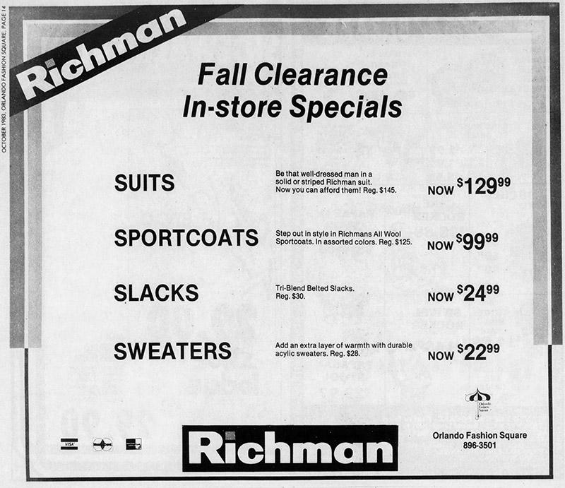 orlando fashion square mall richman brothers