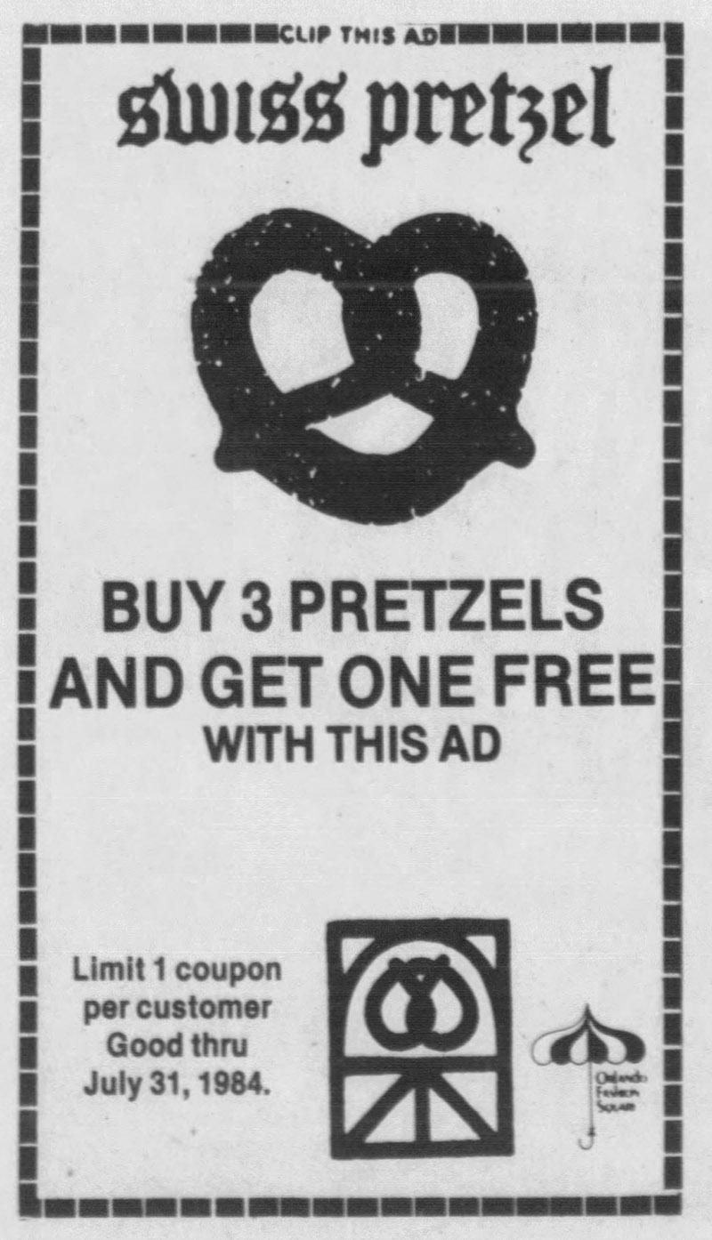 orlando fashion square mall swiss pretzel