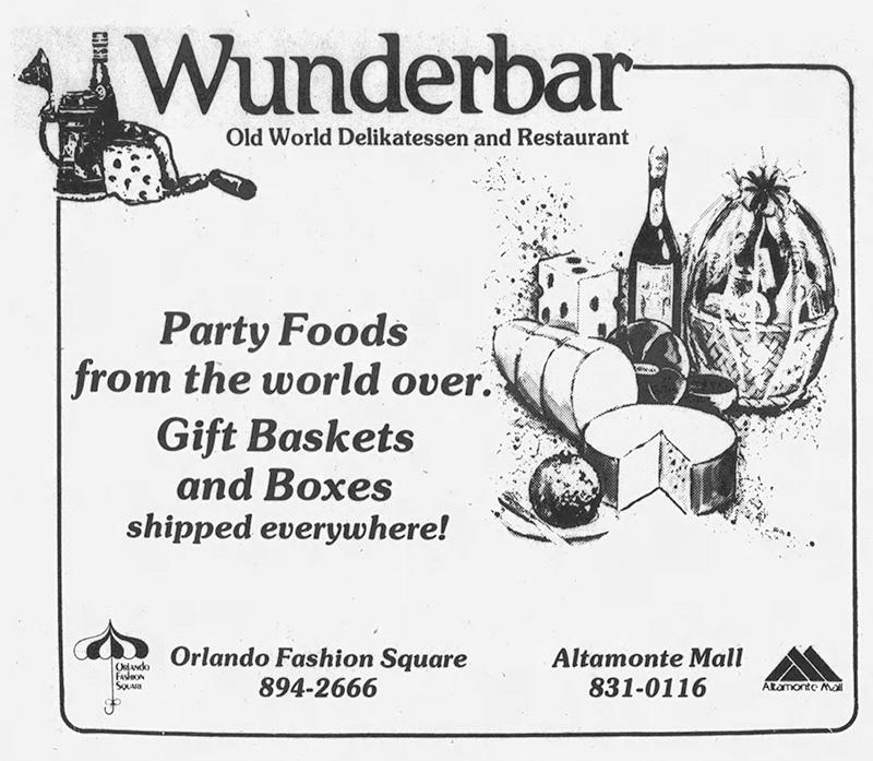 Wunderbar Old World Delikatessen