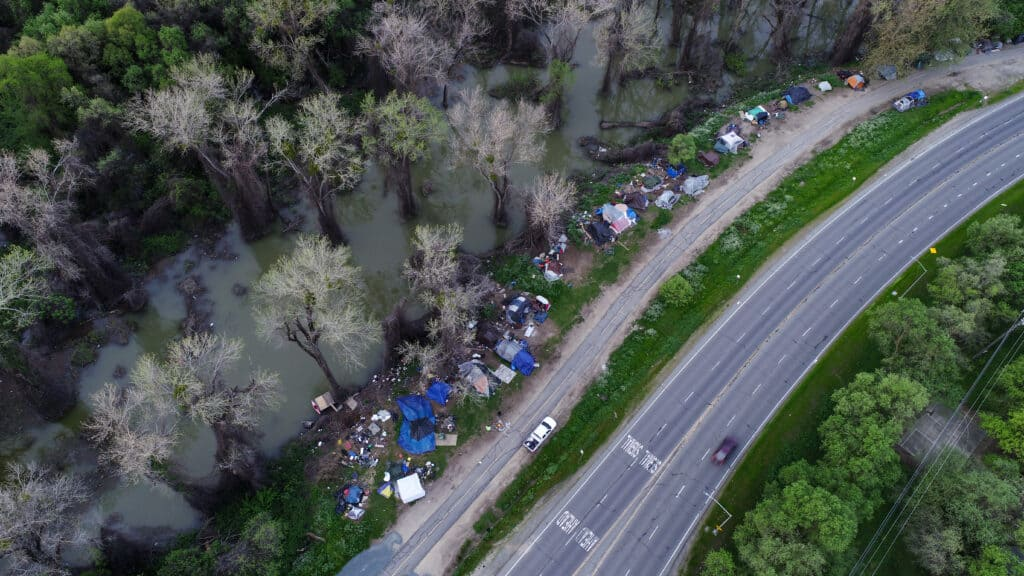 Seattle Homeless Camp Cleanup
