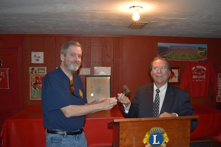 Warren Lion's Club member Gregg Reep named President of the Club for the next year