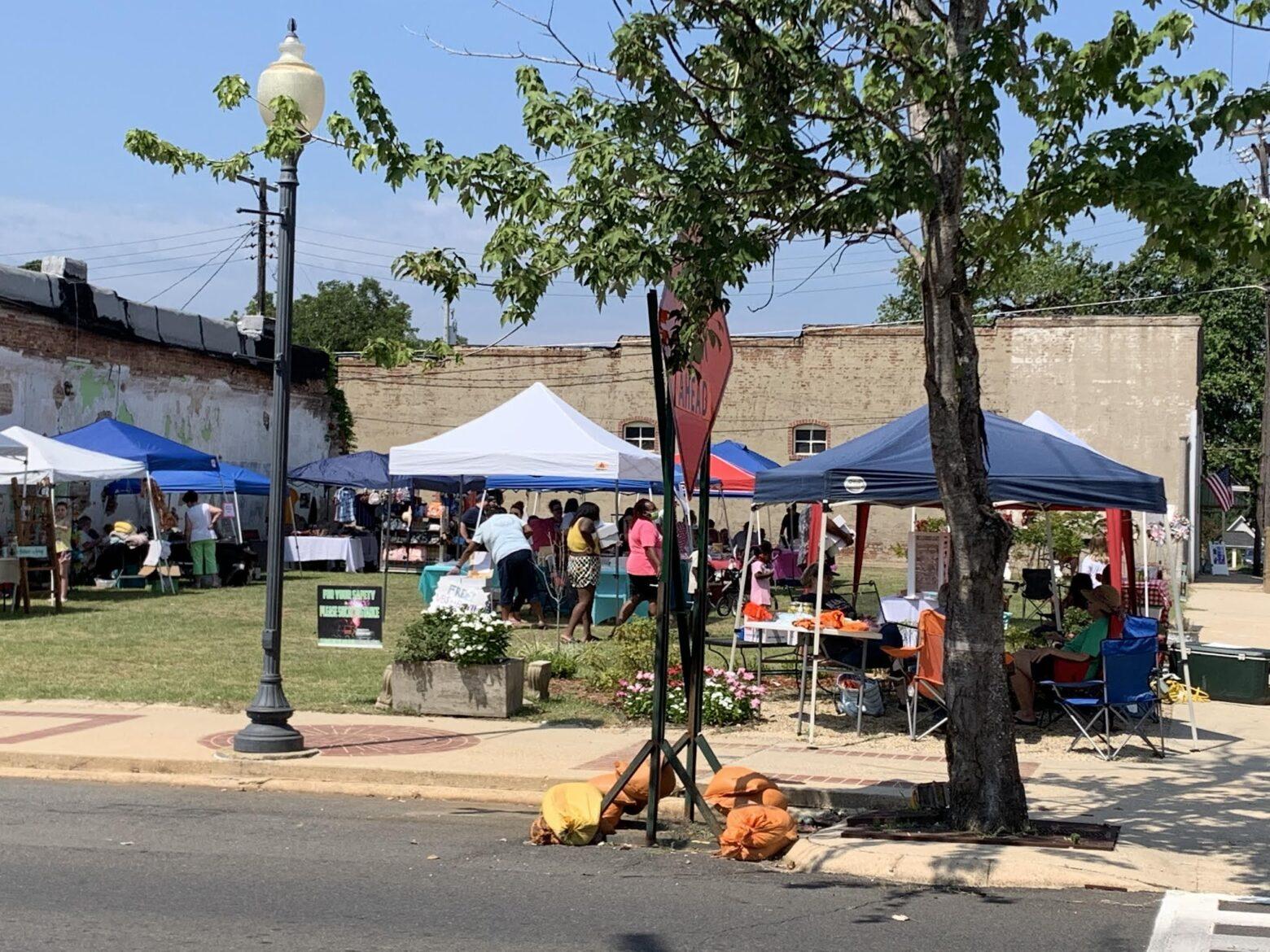 Second Farmer's Market draws crowd last Saturday