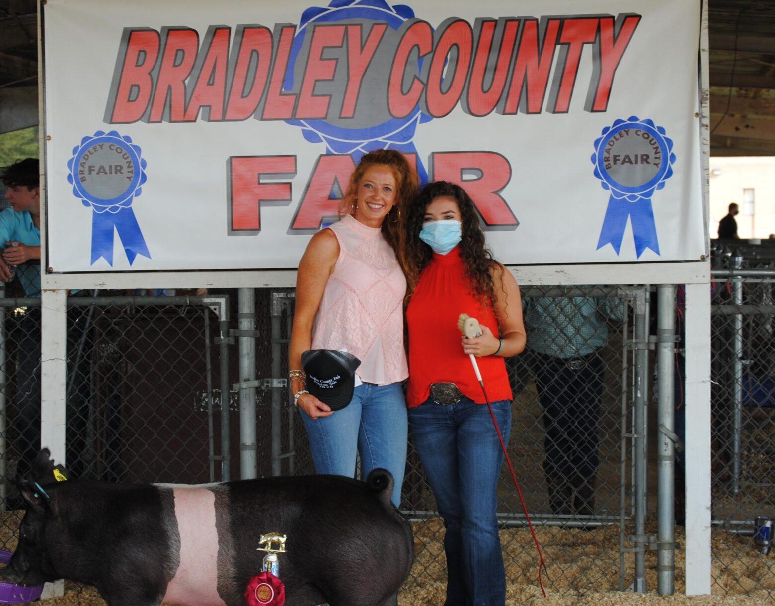 Bradley County Fair Livestock Exhibits health regulations announced