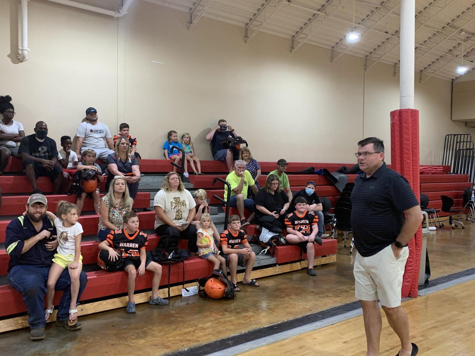 YMCA preparing for start of the 2021 peewee football season