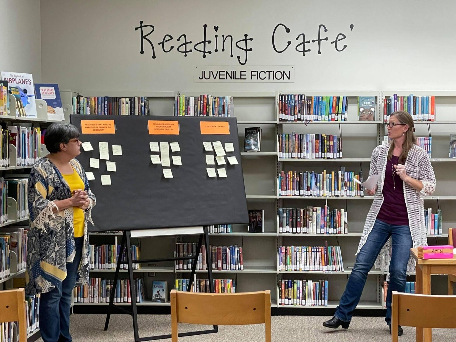 Community conversation held at the Warren Branch Library