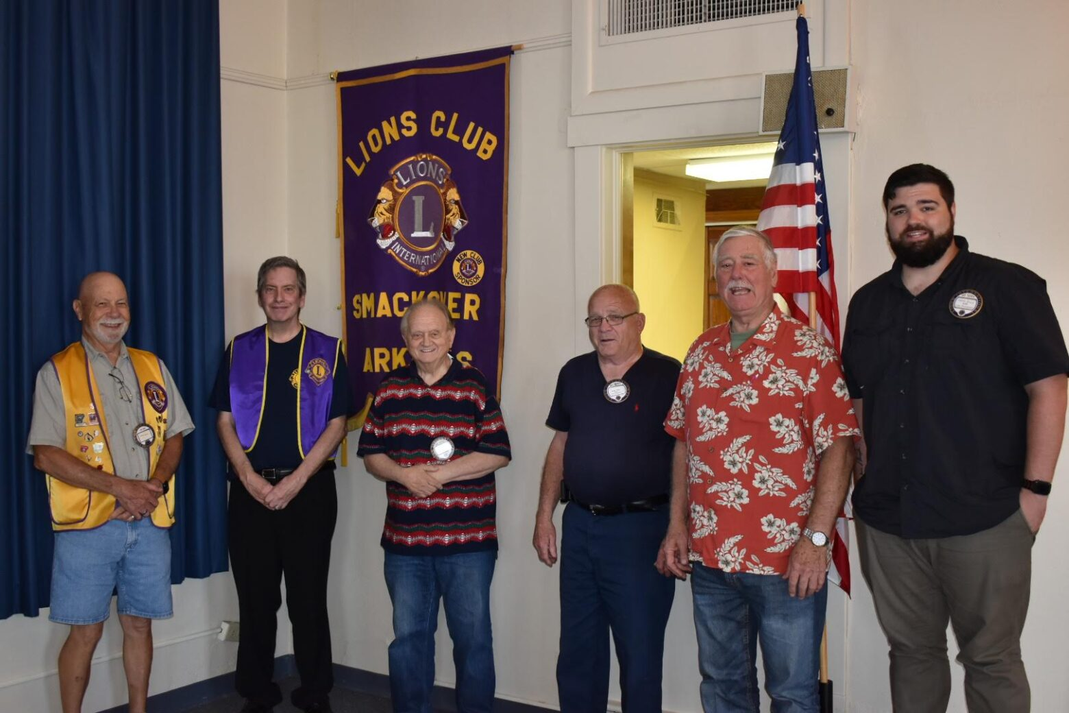 Tim Kessler speaks to Smackover Lions Club