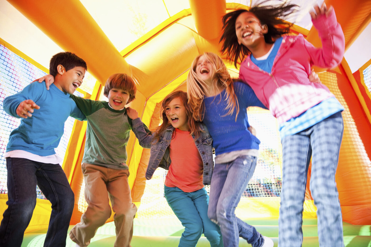 Kid Zone free at the Bradley County Fair