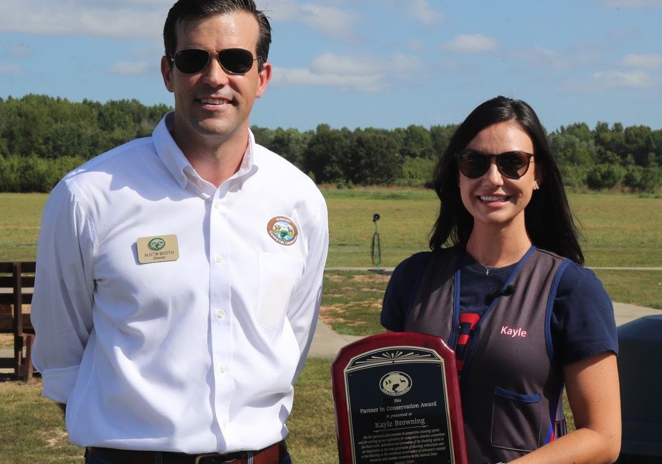 Olympic silver medalist honored at shooting clinic