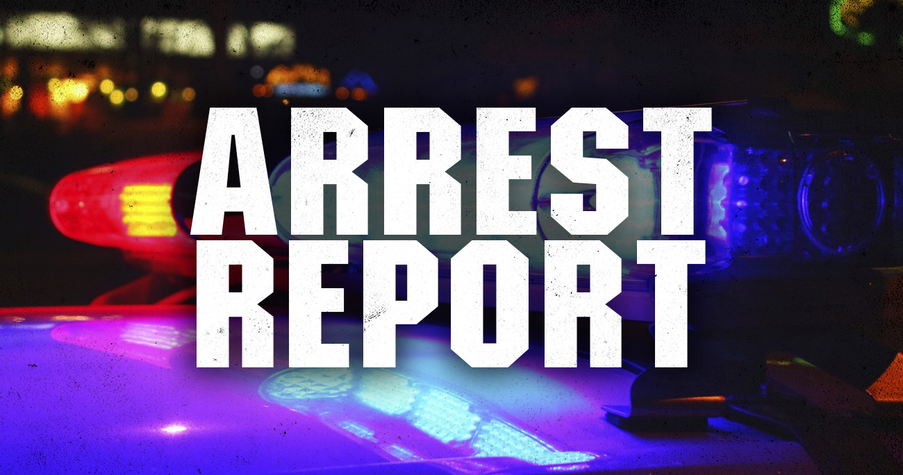 Warren arrest report for September 29-October 3, 2021