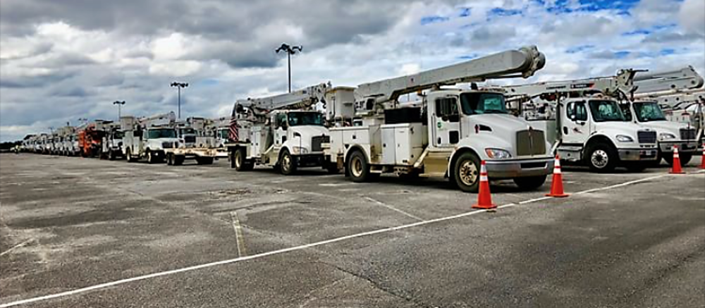 Electric Cooperatives of Arkansas dispatch 188 line crews to Louisiana