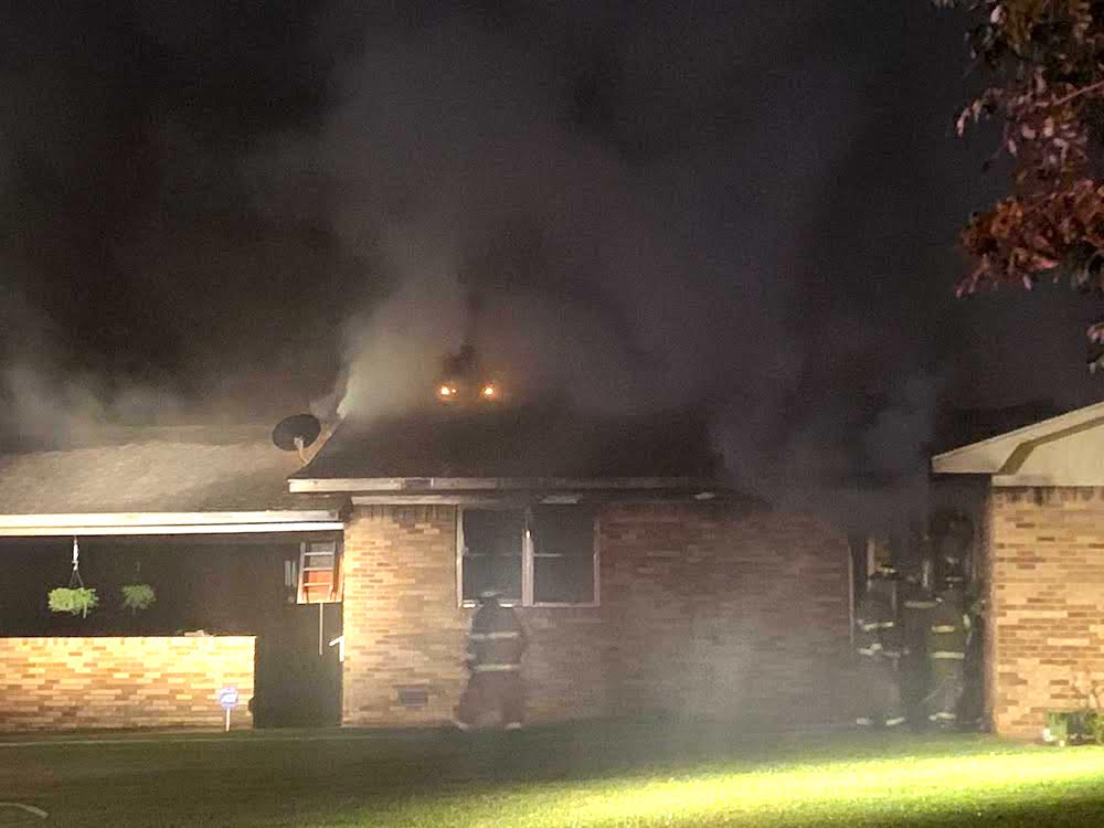 Warren home badly damaged in Thursday night fire
