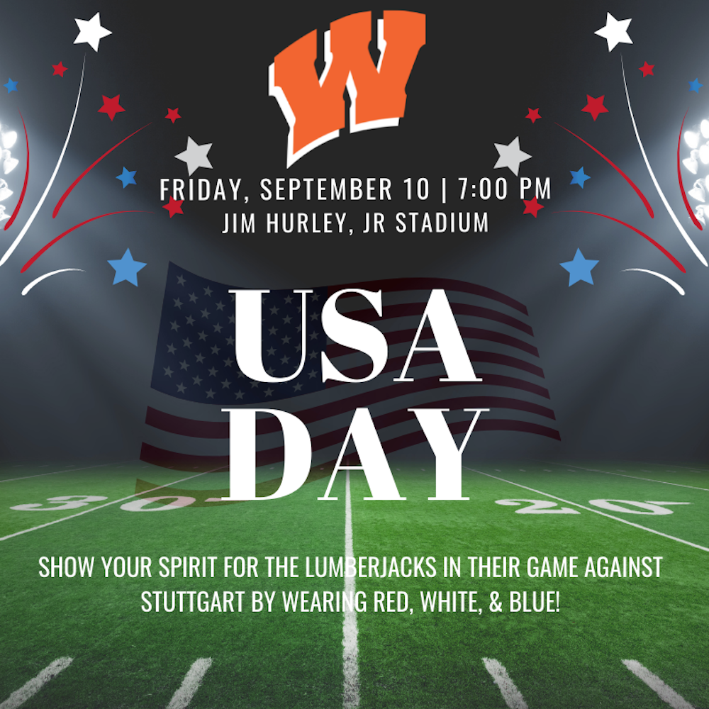 Fans asked to celebrate USA Day spirit day this Friday at Warren vs. Stuttgart