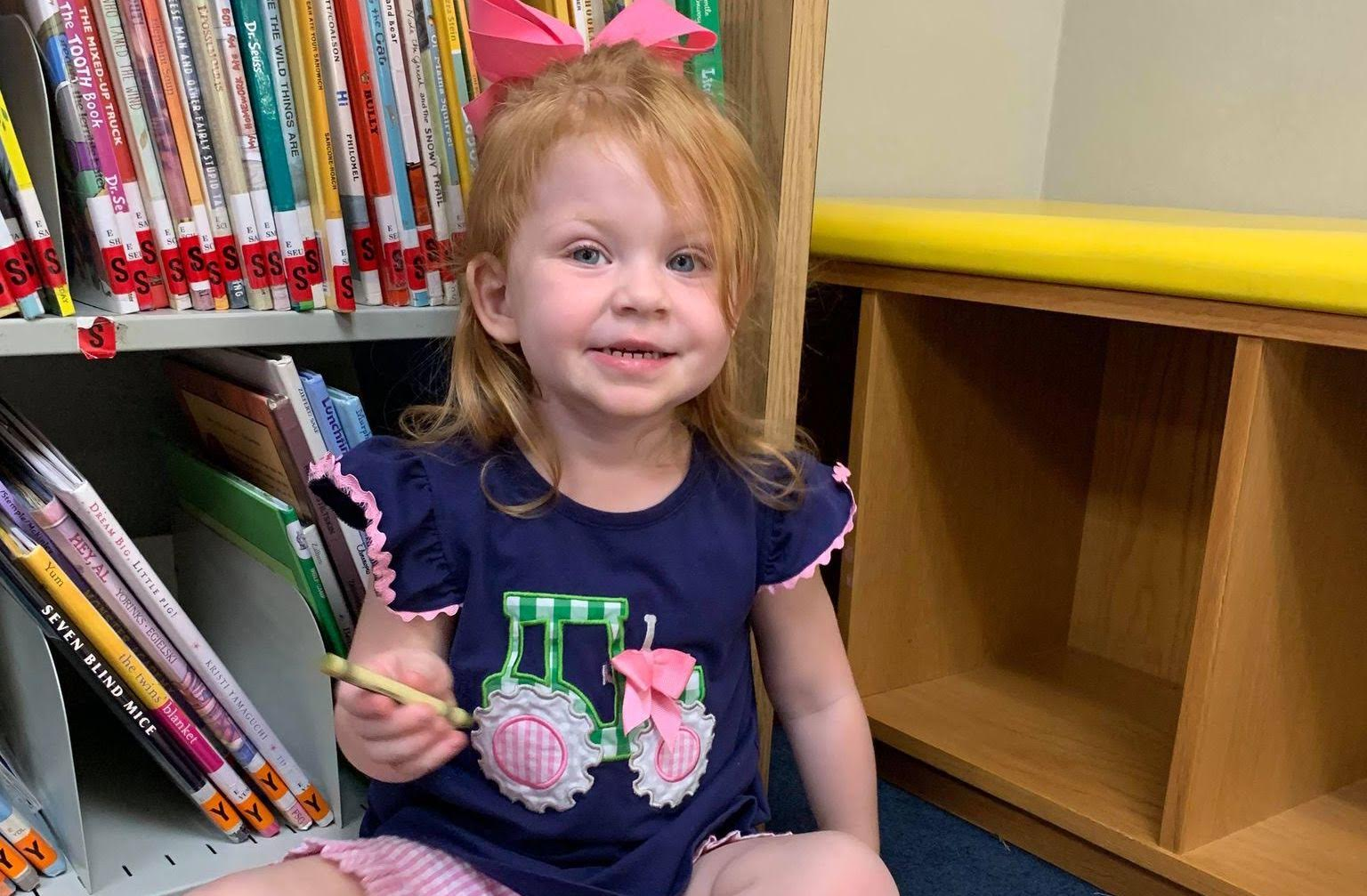 Kiersy Hicks reaches another milestone in the WBL 1,000 Book Before Kindergarten program