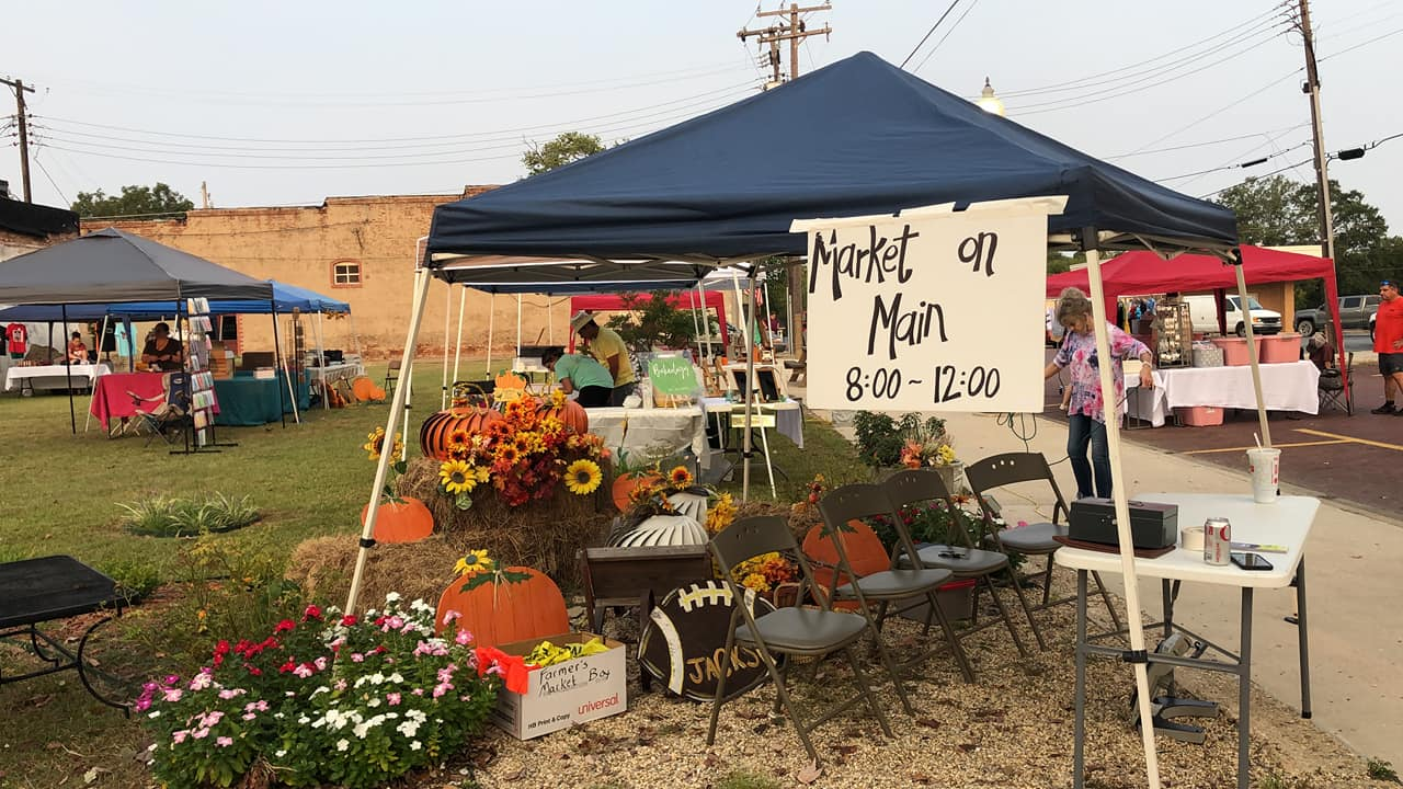 Market On Main continues to be a hit, another planned for October 9