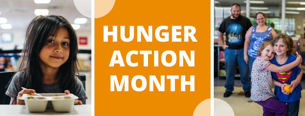 Arkansas Foodbank joins Hunger Action Month campaign, encouraging Arkansans to get involved, raise awareness of local hunger