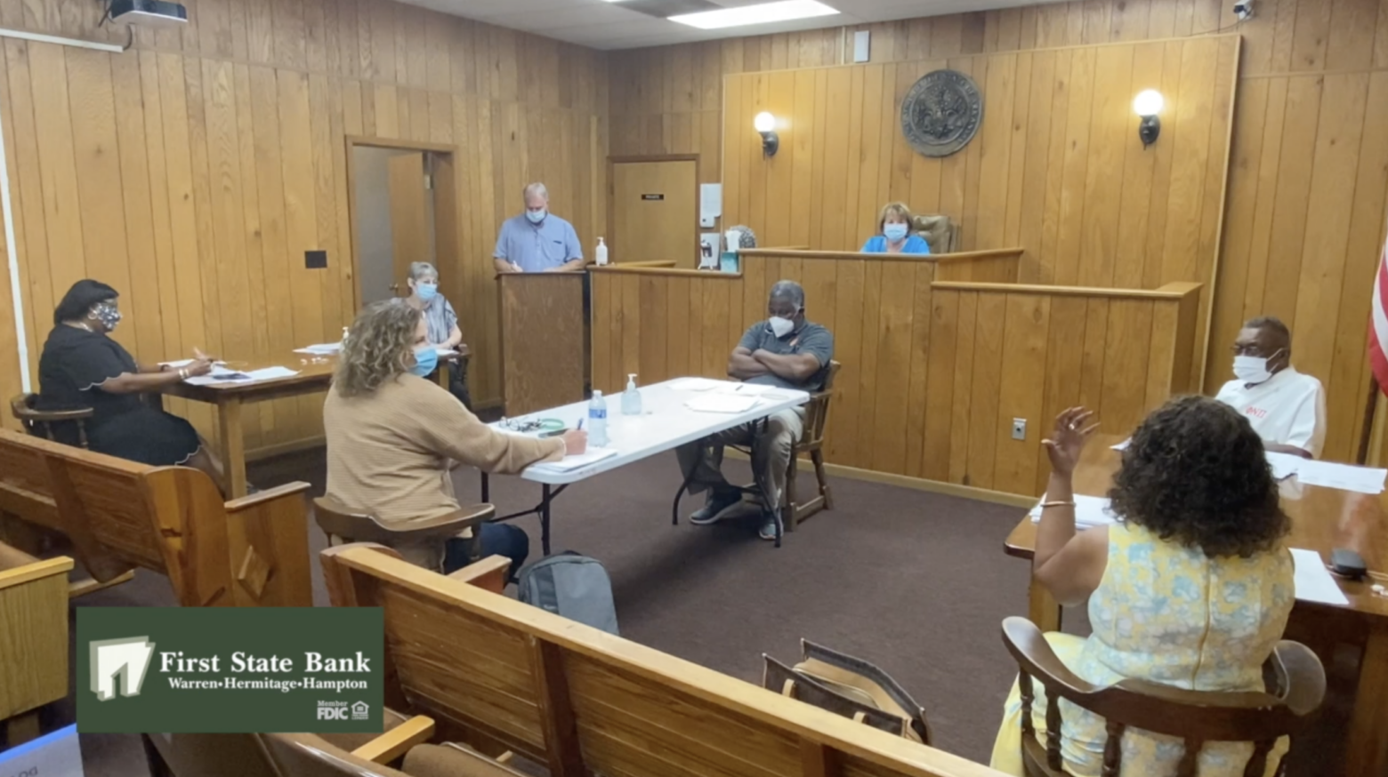 Police car and fire engine issues discussed during September Warren City Council meeting-Video included