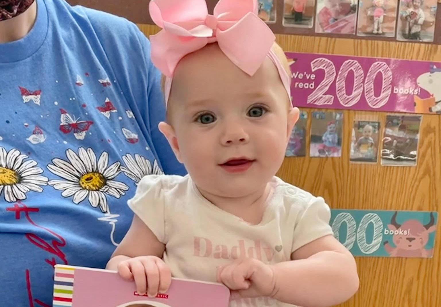 Addison Thomason reaches milestone in 1000 Books Before Kindergarten Program at the Library