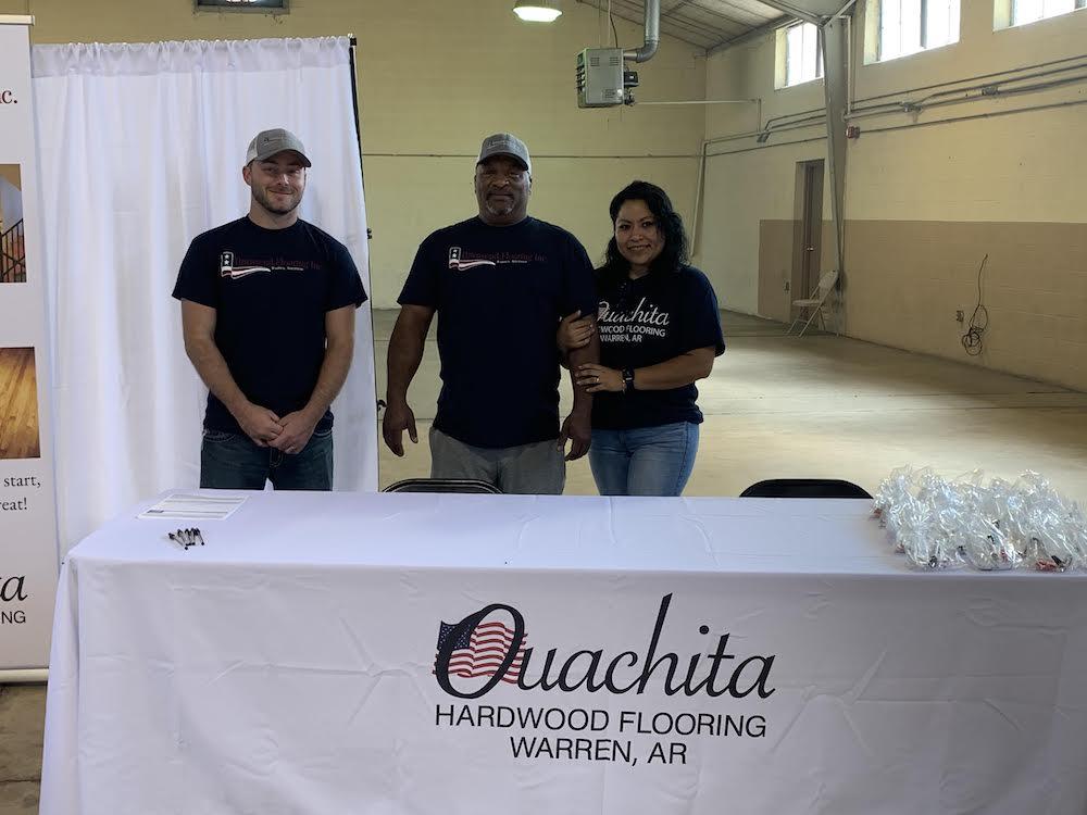 Ouachita Hardwood and Townsend Flooring hold job fair