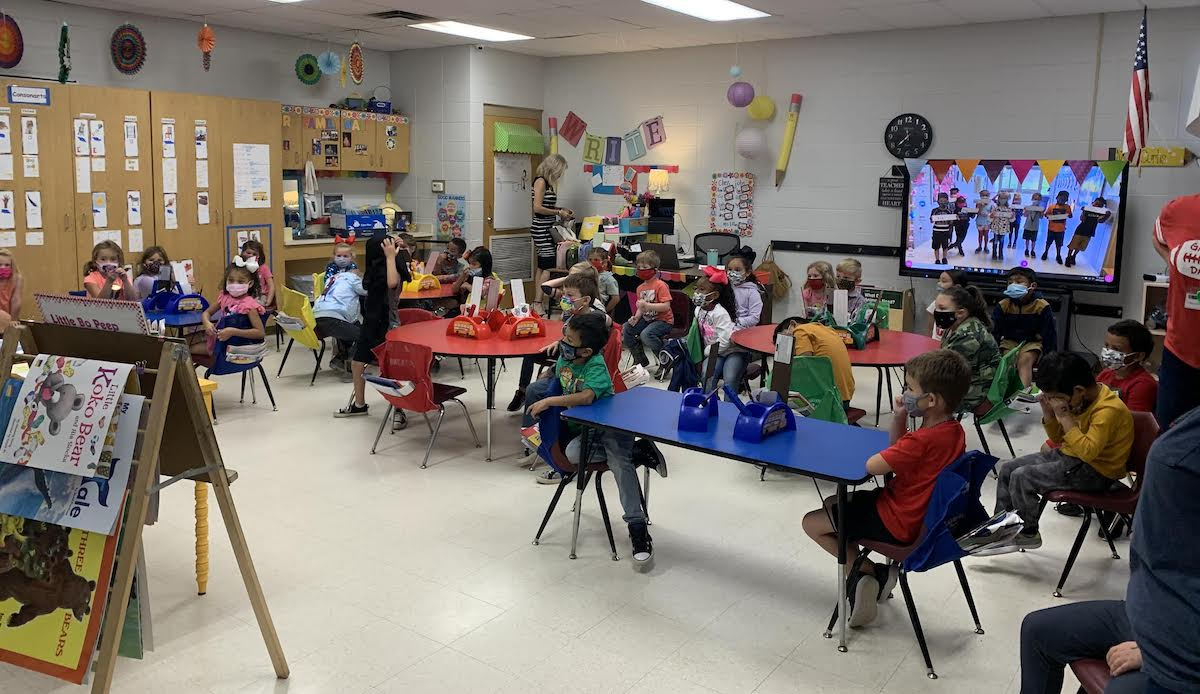 Hermitage Kindergarteners presented program teaching good dental care
