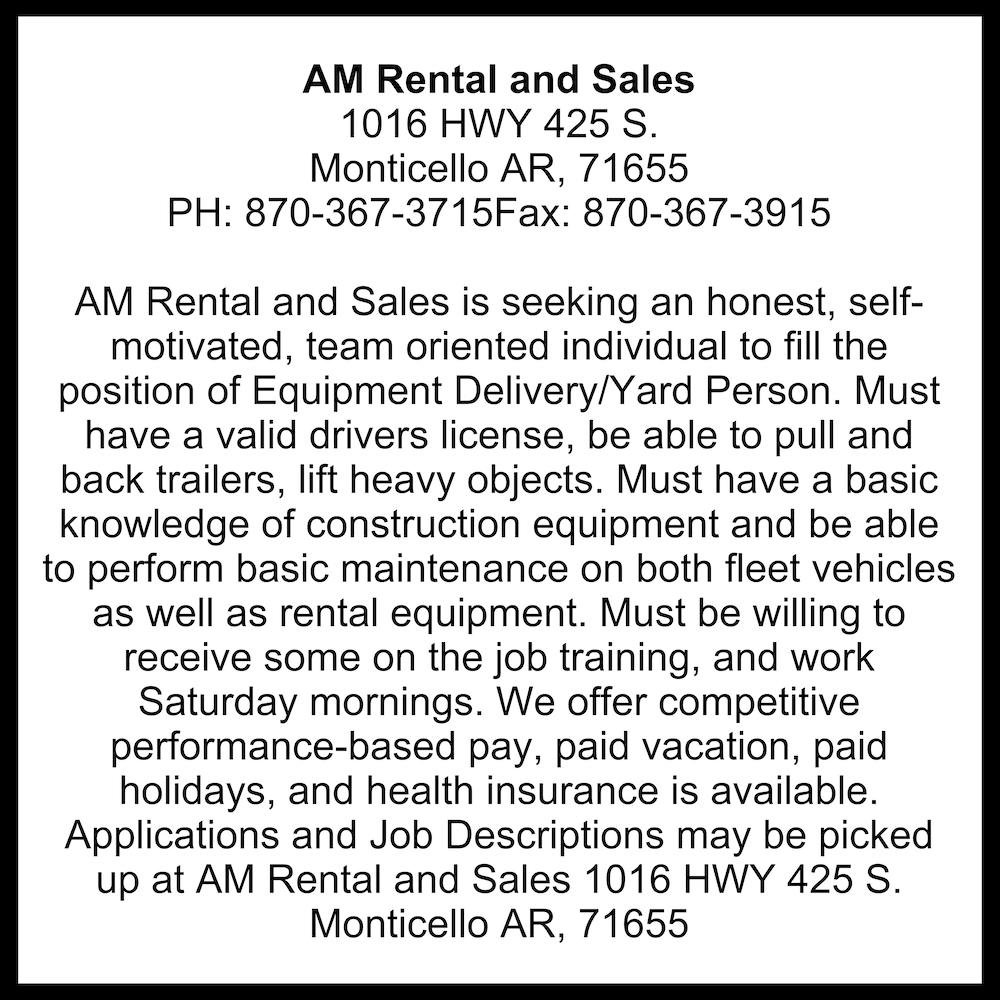 AM Rental and Sales