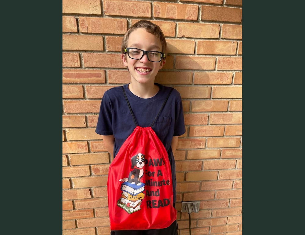 Peyton Garrison wins Library Book Club for Kids award for September