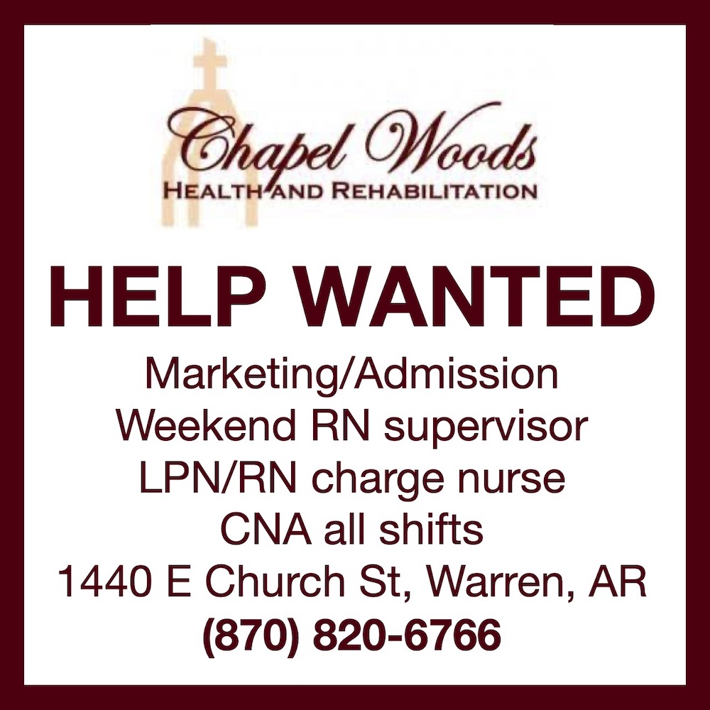 Help Wanted-Chapel Woods