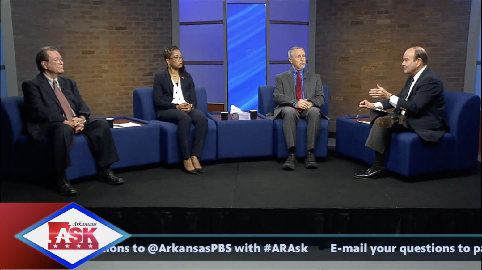 Gregg Reep takes part in live Arkansas PBS COVID-19 town hall broadcast