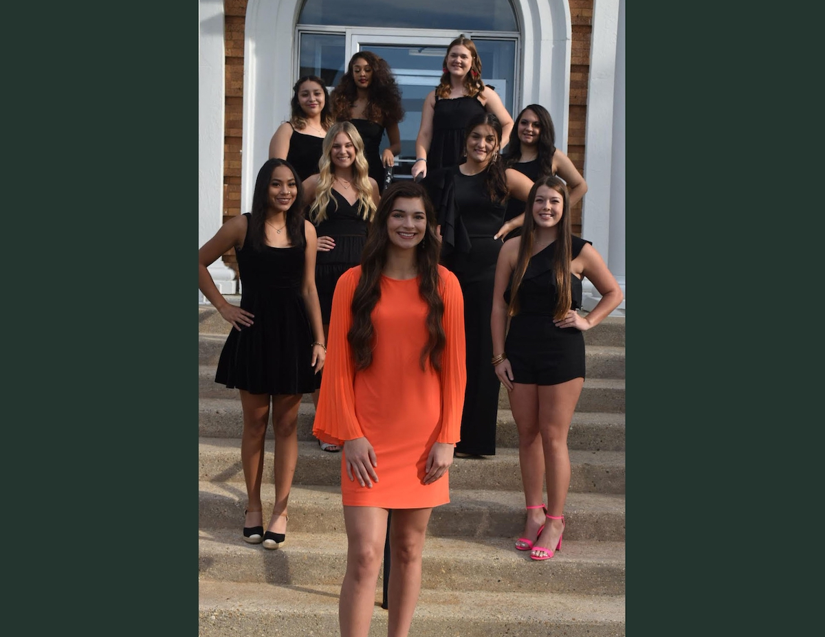 Introducing the 2021 WHS Homecoming Court led by Queen Keller Bigham