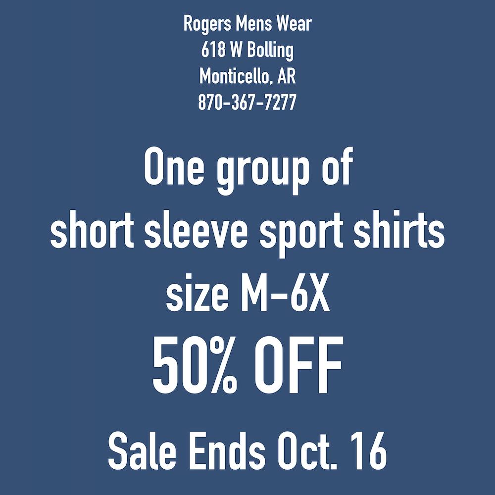 Rogers Mens Wear