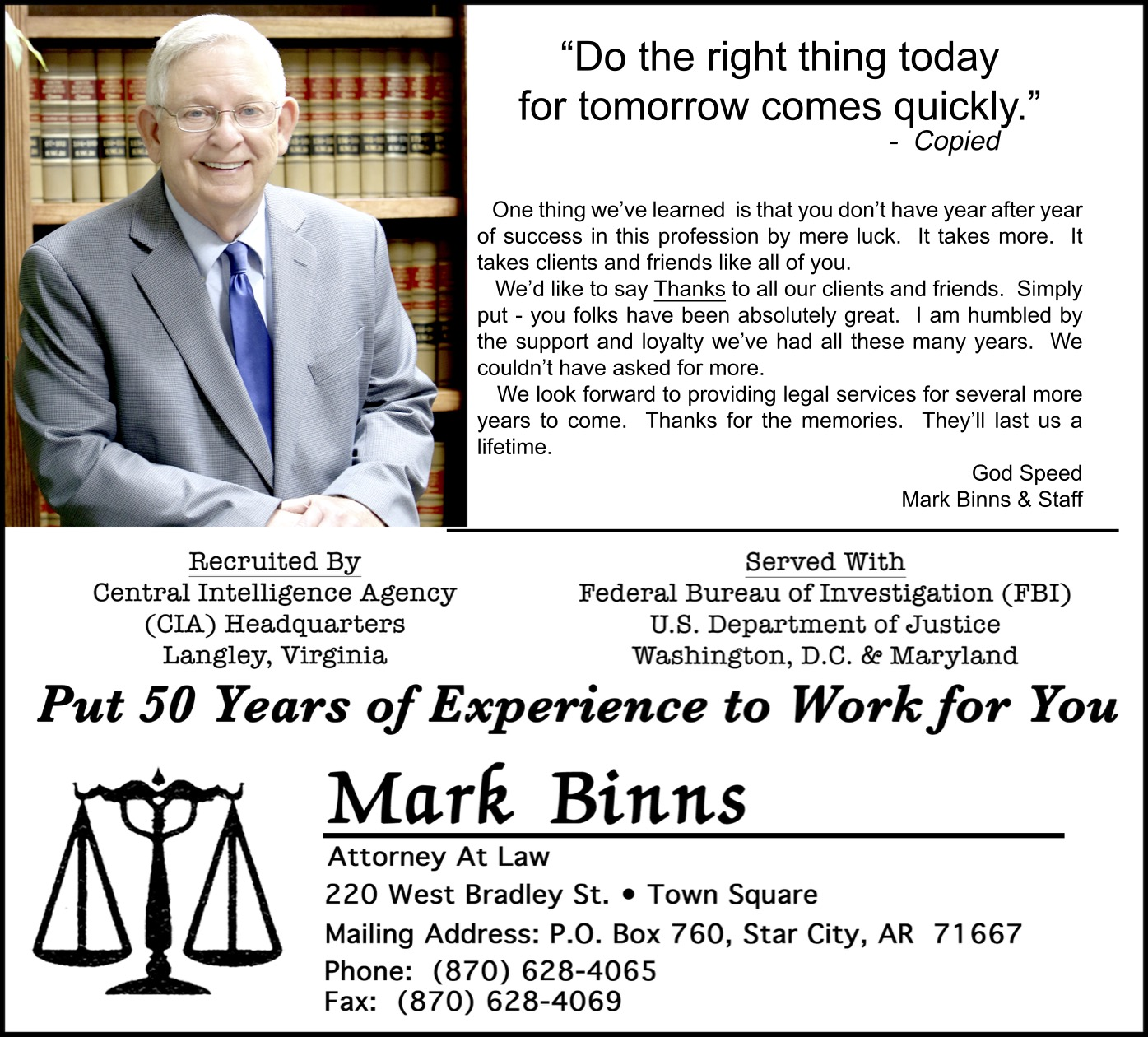 Mark Binns-Attorney At Law