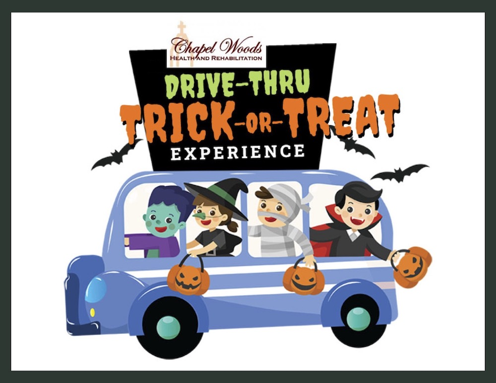 Chapel Woods hosting drive-through trick-or-treating event October 30