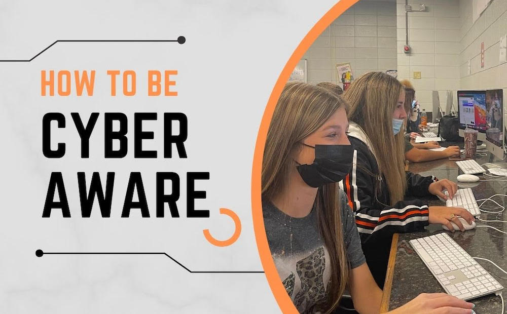 WHS students present tips on how to be cyber aware